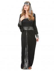 Disfraz medieval mujer negro