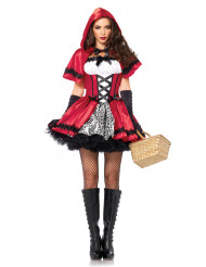 Disfraz de Caperucita roja elegante mujer