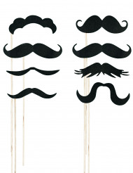 Kit accesorios fotos 8 bigotes
