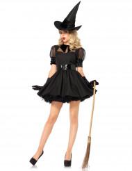 Disfraz de bruja elegante mujer