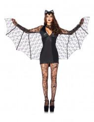 Disfraz de murciélago sexy mujer