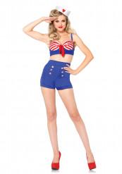 Disfraz de marinero sexy mujer