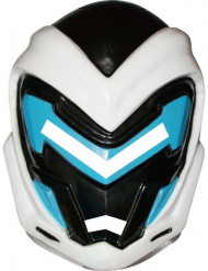 Máscara Max Steel™ PVC niño