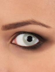 Lentillas de fantasía ojo zombie gris