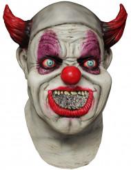Máscara integral animada payaso adulto