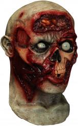 Máscara integral animada zombie adulto