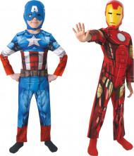 Disfraz duo Iron Man™ y Capitán América™ niño