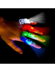 4 Spots dedos LED