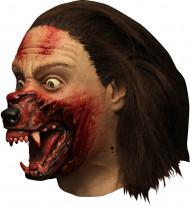 Máscara integral Hemlock Grove™ transformación hombre lobo