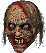 Máscara adulto de zombie mordedor