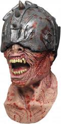 Máscara de guerrero zombie