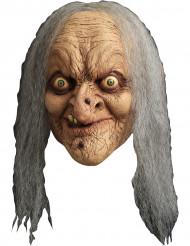 Máscara de bruja anciana