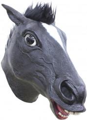 Máscara caballo negro