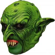 Máscara 3/4 gnomo verde dentadura