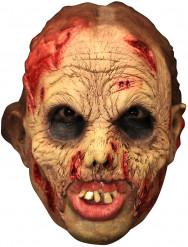 Máscara 3/4 zombie dentadura Deluxe