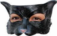 Máscara gato negro