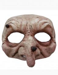 Semi máscara bruja