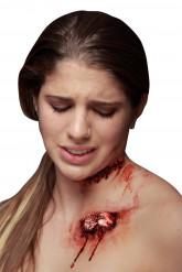 Herida falsa con hueso