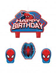 4 Velas cumpleaños Spiderman™