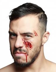 Herida falsa pómulo