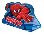 8 Tarjetas de invitación sobres Spiderman™