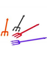 Palillos tridentes de colores