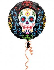 Globo Día de los Muertos 43 cm