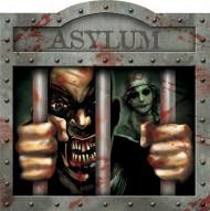 Decoración mural asilo Halloween