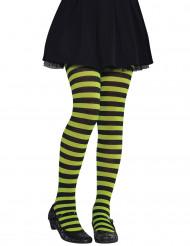 Medias verde/ negro niño