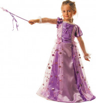 Disfraz de princesa encantada rosa niña