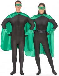 Kit superhéroe verde adulto