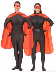 Kit accesorios superhéroes rojos adulto