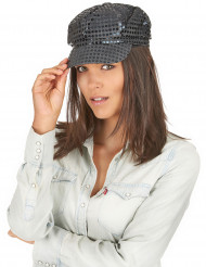 Gorra disco negro adulto