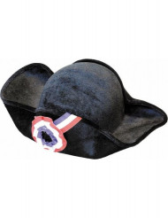 Sombrero tricornio revolución adulto