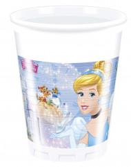 8 Vasos de plástico Cenicienta™ 200 ml