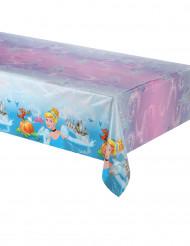 Mantel azul de plástico Cenicienta™ 120x180 cm