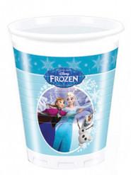 8 Vasos plástico Frozen™ 200 ml