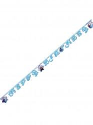 Guirnalda cartón Happy Birthday Frozen™ 2 metros