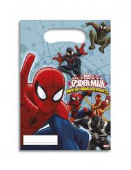 6 Bolsas regalos Spiderman™