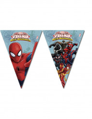 Guirnalda con banderines Spiderman™ 260 cm