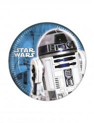 8 platos pequeños Star Wars™ 20 cm