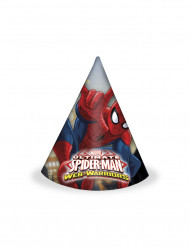 6 Gorros Spiderman™