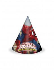 6 Gorros Spiderman™