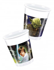 8 Vasos Star Wars™ 200 ml