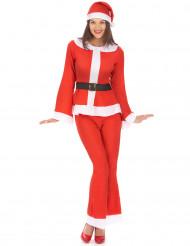 Disfraz mamá Noel adulto pantalón