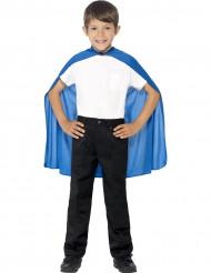 Capa azul niño