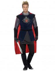 Disfraz de rey medieval hombre