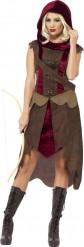 Disfraz cazadora mujer