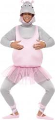 Disfraz hipopótamo bailarina adulto