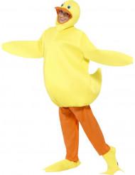 Disfraz de pato de baño adulto